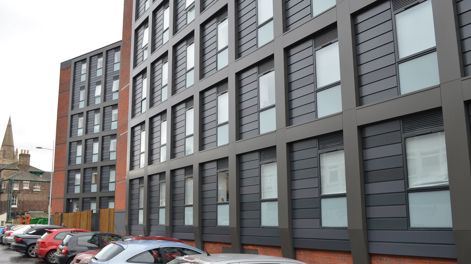 The student sadly died at Danesgate House student accommodation in the city centre. Photo: The Lincolnite