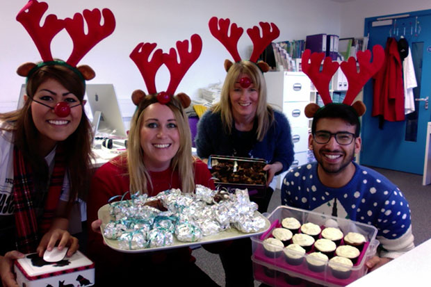 Social Change UK donned jumpers and held a bake sale, making just over £80.