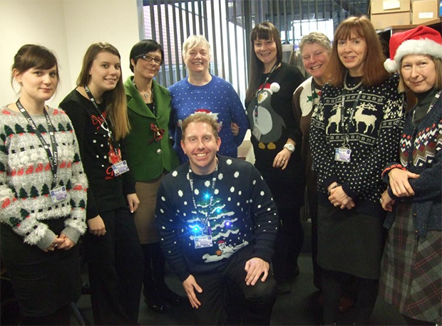Lincoln College's library staff.