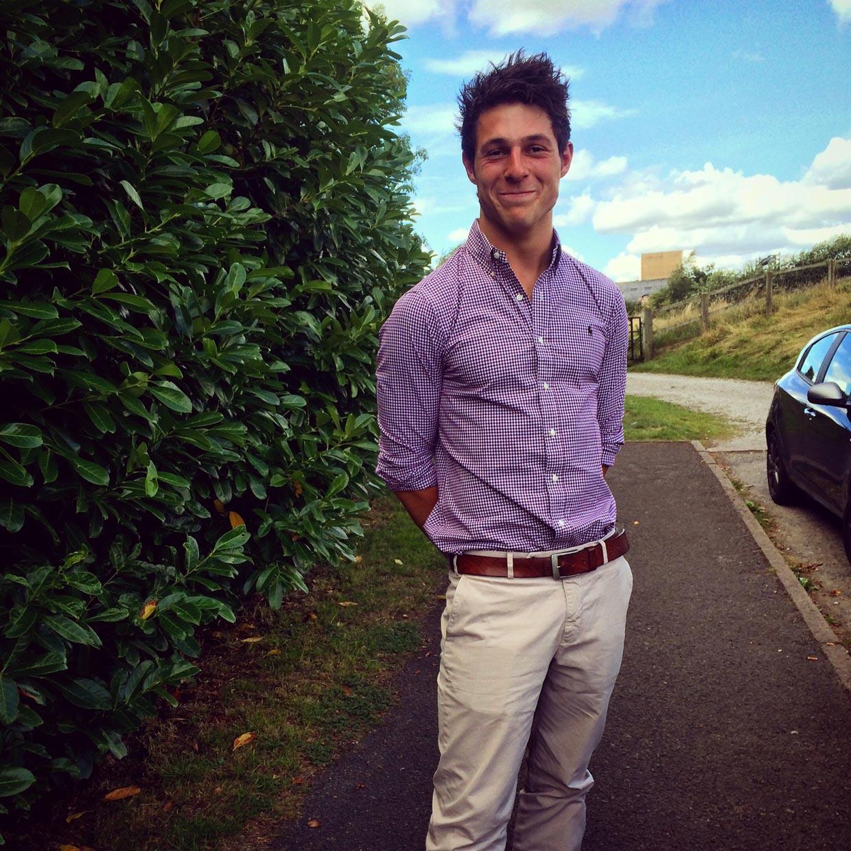 George Grant from Lincoln: Finalist for Britain's Sexiest Farmer 2015