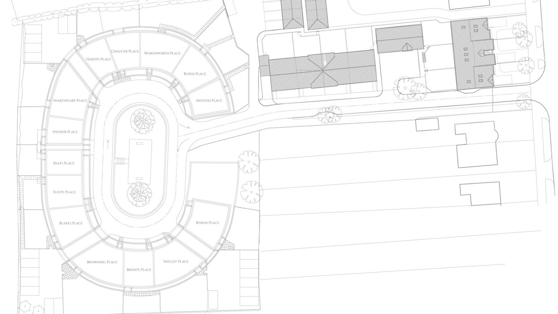 The Lincoln Colosseum map, with 14 properties. Photo: Tennyson Homes