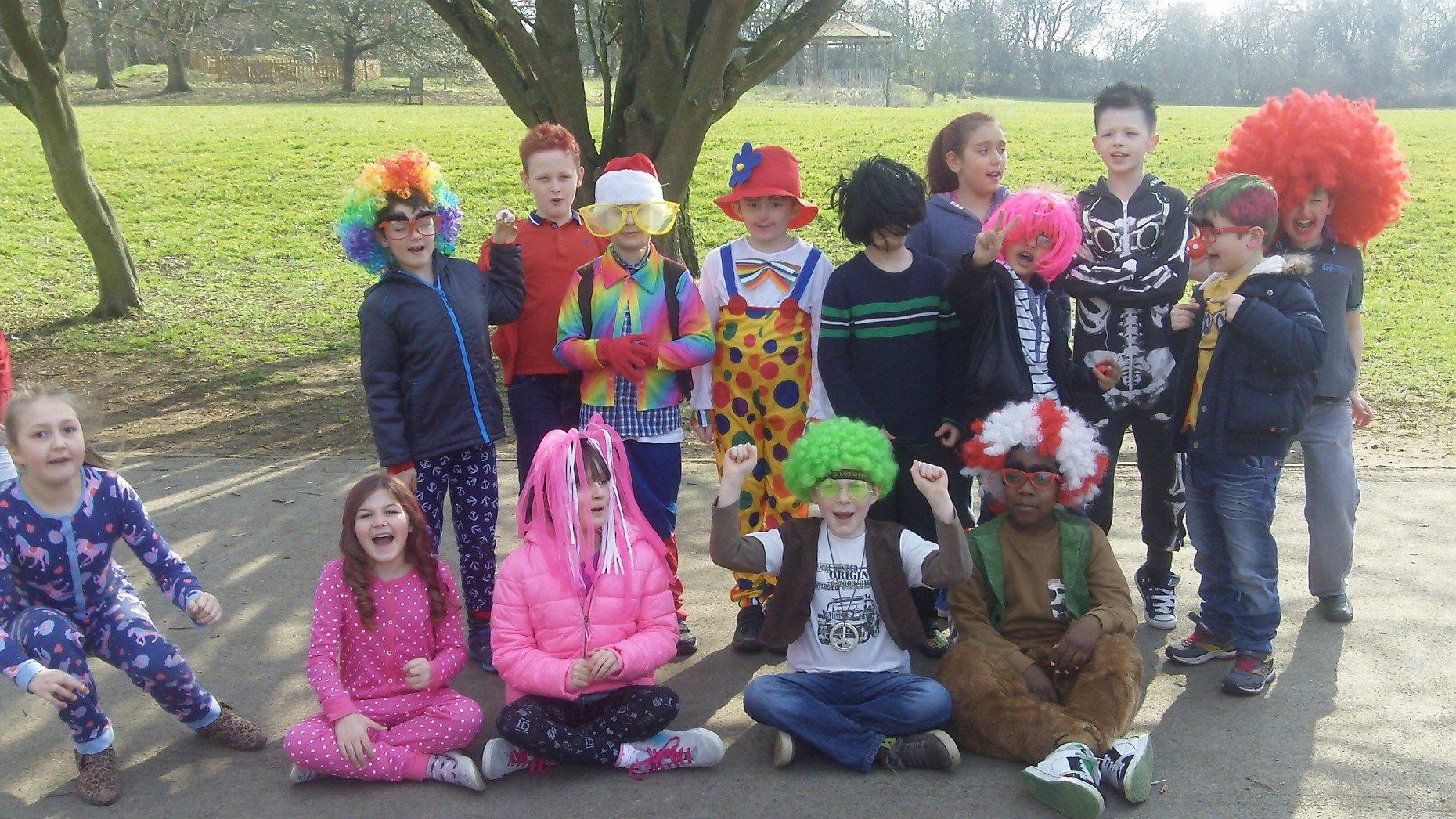 All together Nettleham Church of England Aided Junior School raised £1,200