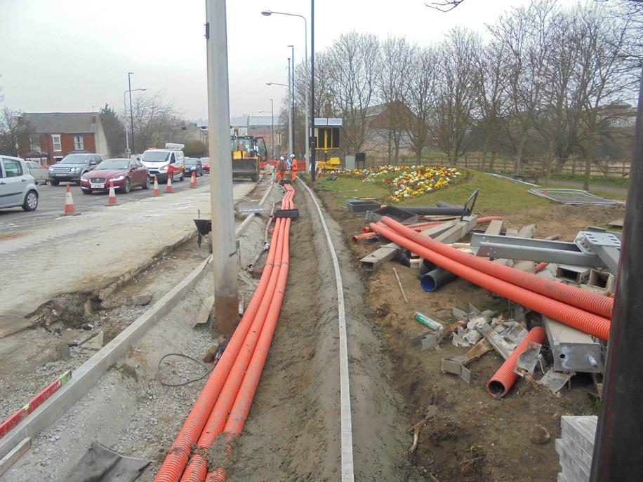 Work on Canwick Road in Lincoln will result in a road closure the weekend of March 21. Photo: Lincolnshire County Council