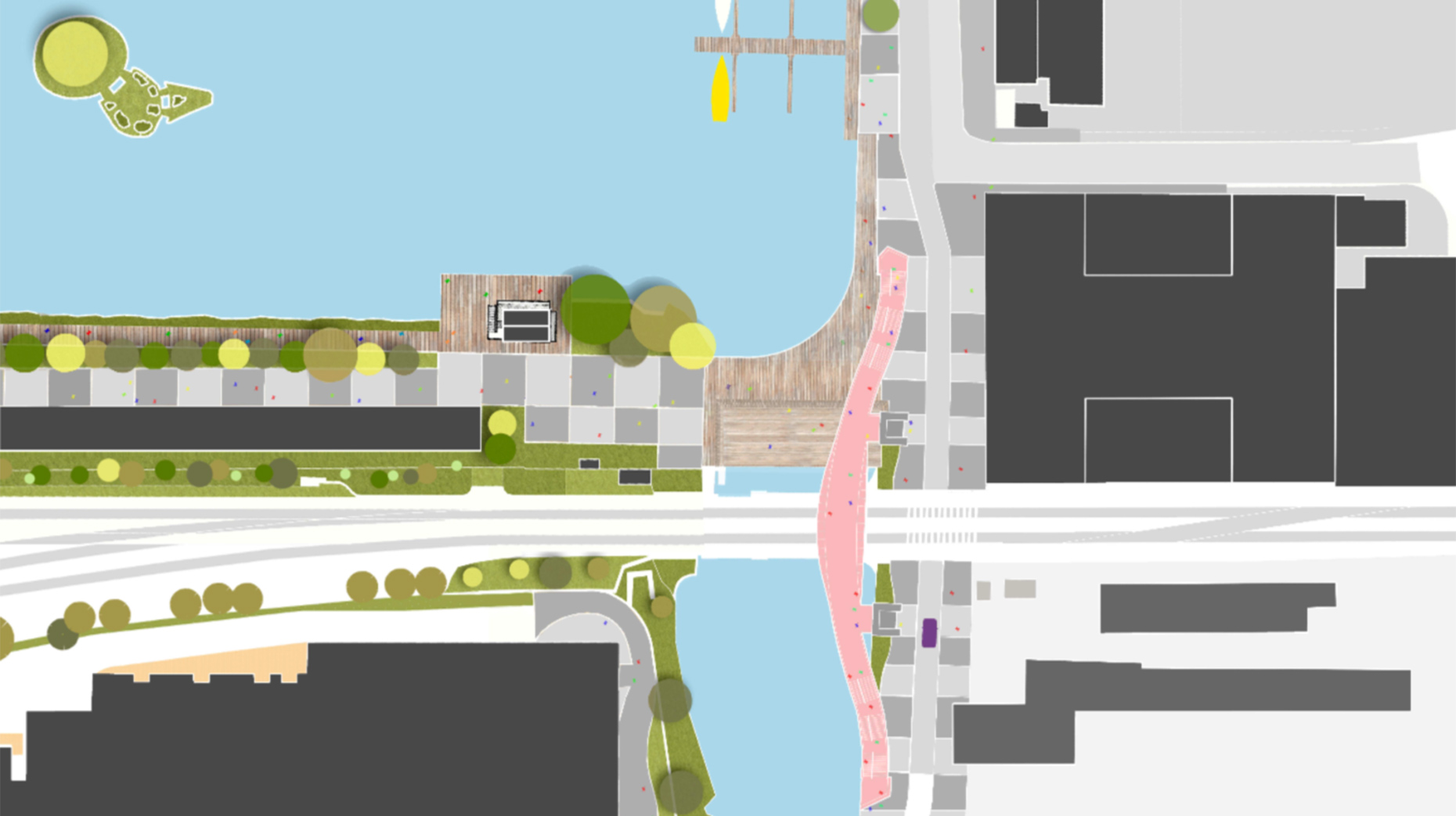 Designs for the new Heritage centre on the Brayford.