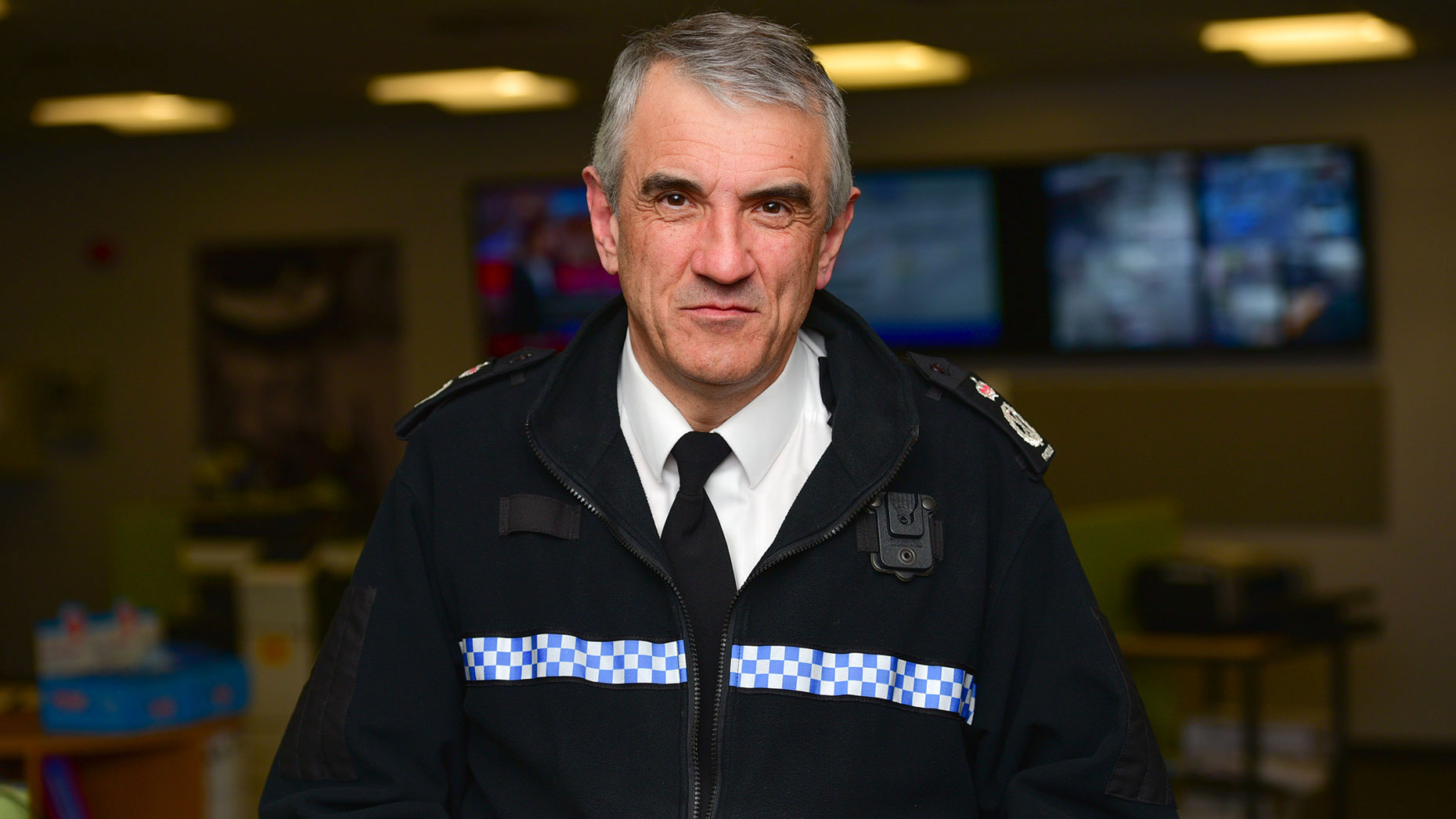 Current Chief Constable Neil Rhodes. Photo: Steve Smailes for Lincolnshire Reporter