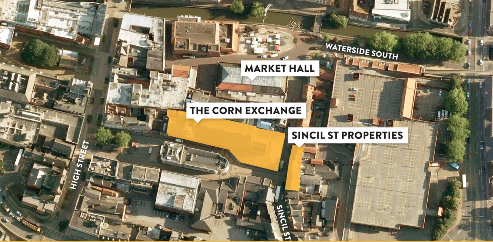 The scheme is a major redevelopment including 30,000 m2 of new shops and restaurants