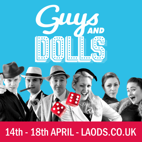 Guys and Dolls is at the LPAC between April 14 and 18.