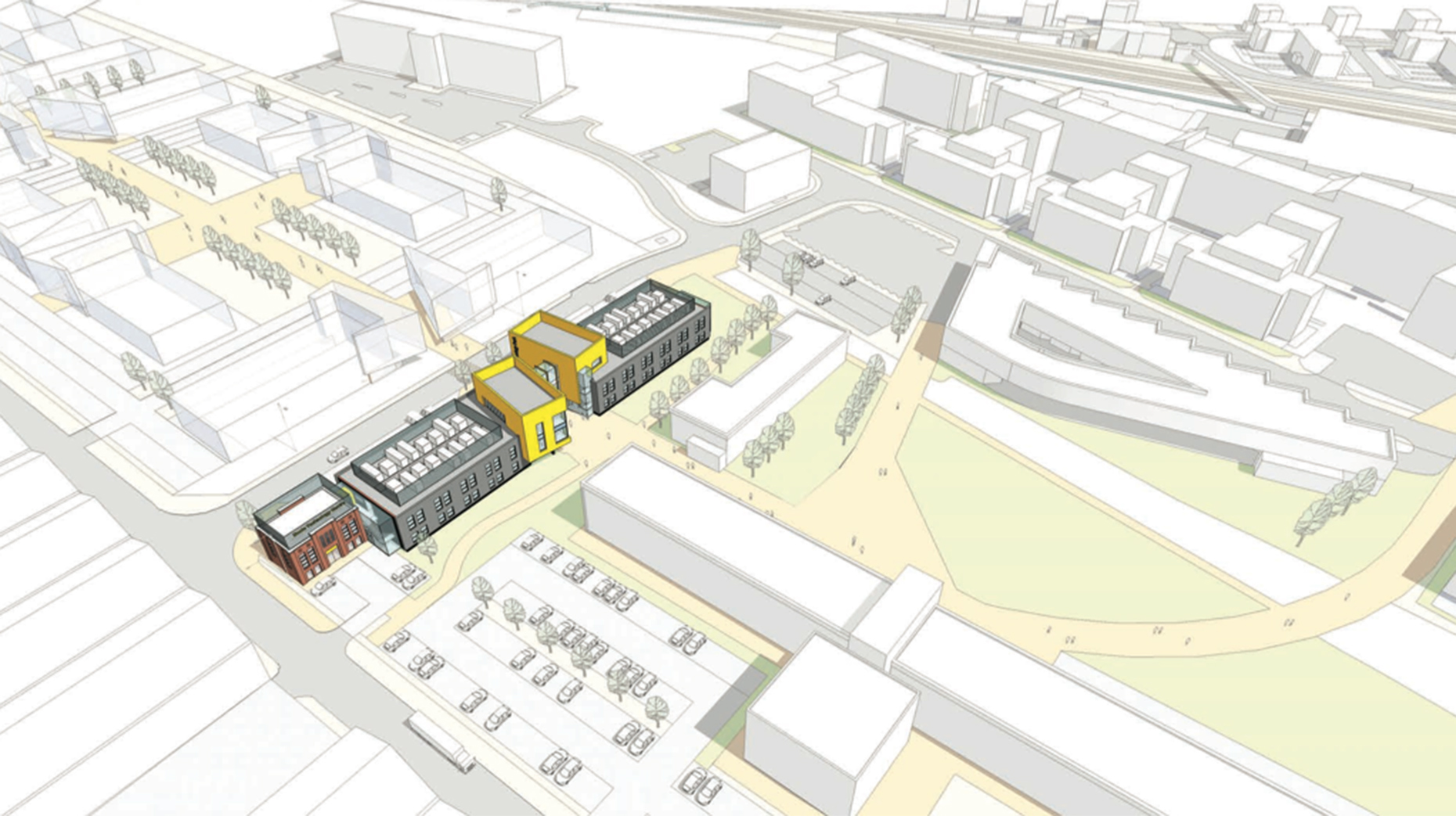 The Boole Technology Centre will complete phase one of the £50 million masterplan, acting as a physical gateway to phase two.