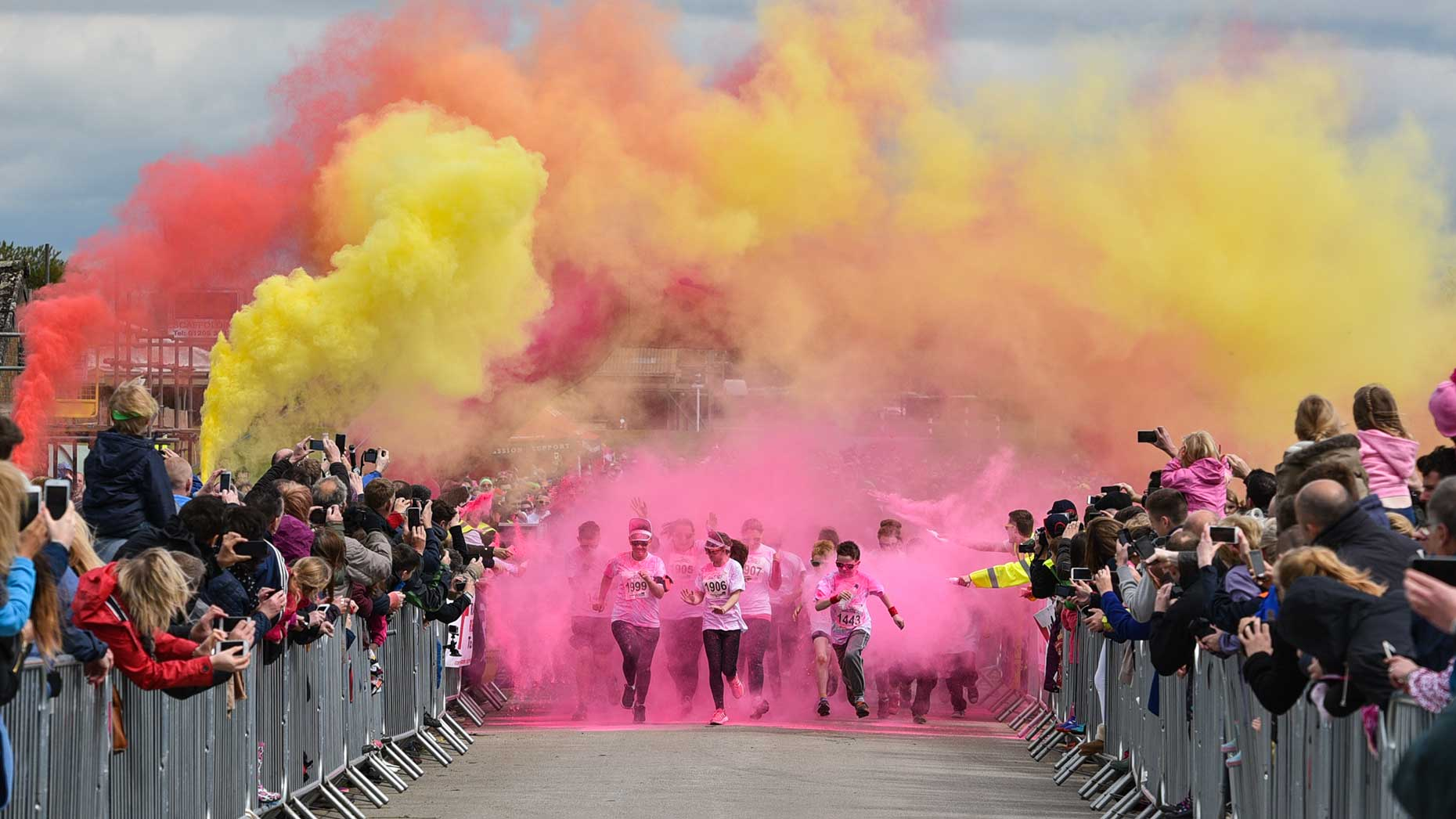 This years event will see 3,500 runners take on the powdered paint Photo: Steve Smailes for The Lincolnite