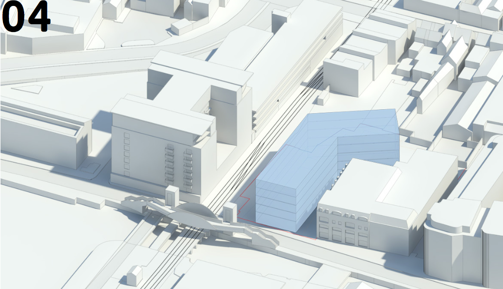 Layout design submitted as part of the proposal.