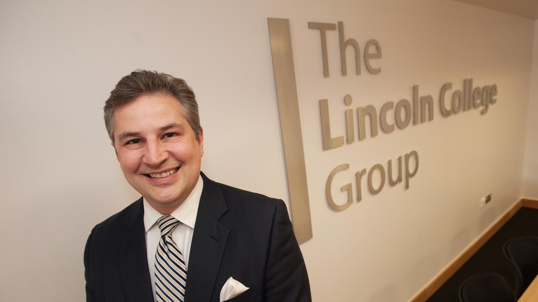 Gary Headland, CEO of the Lincoln College Group. Photo Steve Smailes for Lincolnshire Business