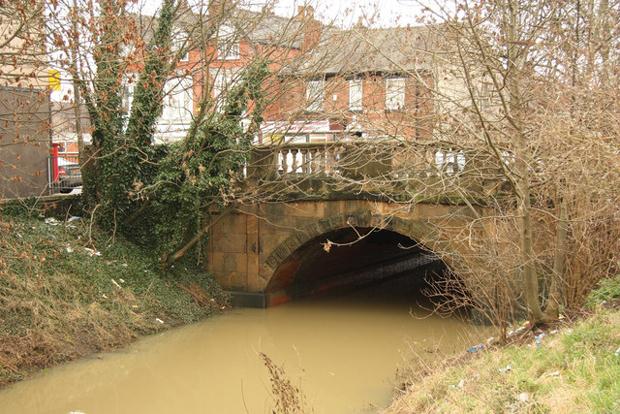 Gowts Bridge off Lincoln High Street. Photo: Richard Croft
