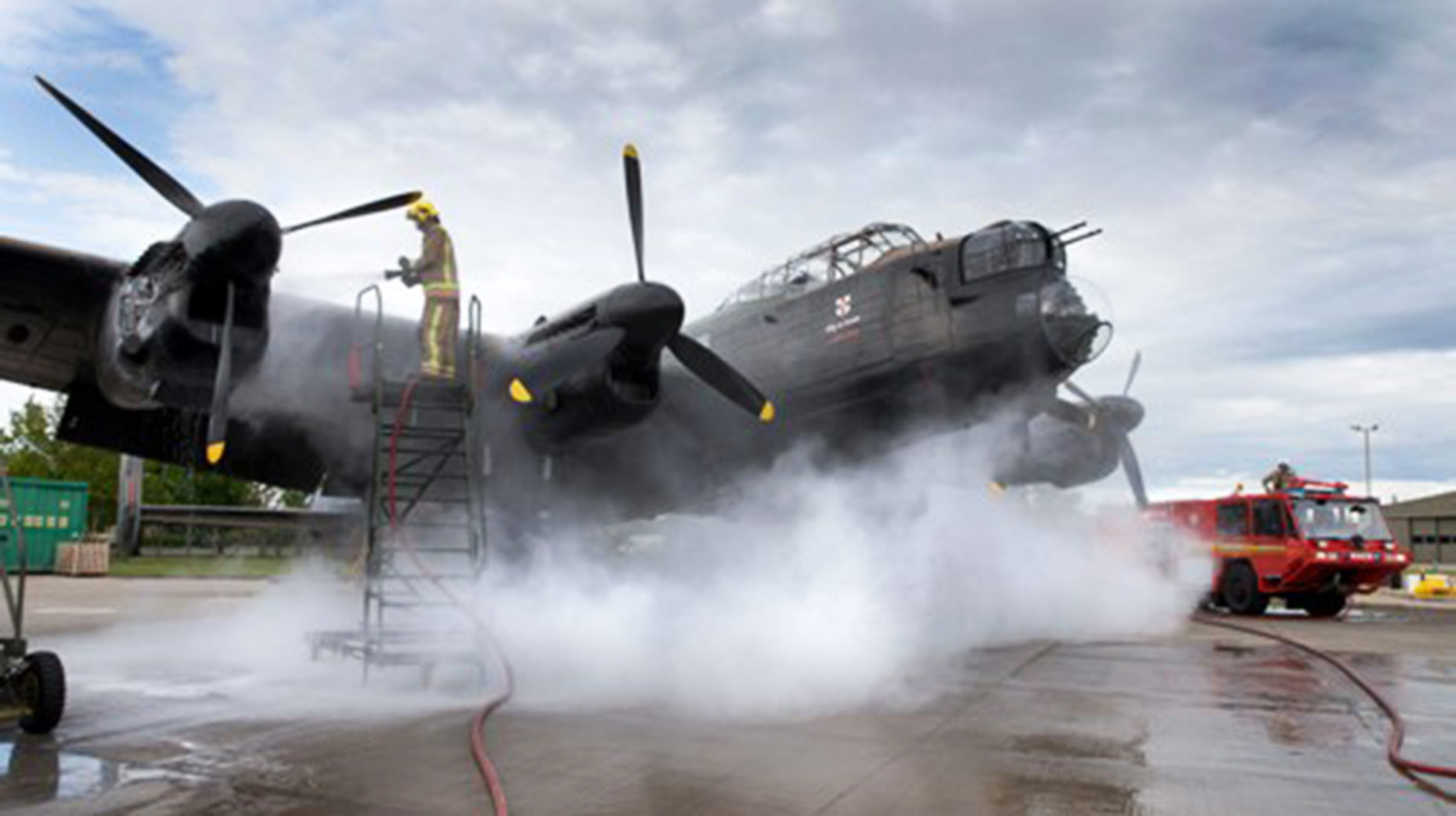 Lincolnshire Lancaster Out For Most Of Display Season