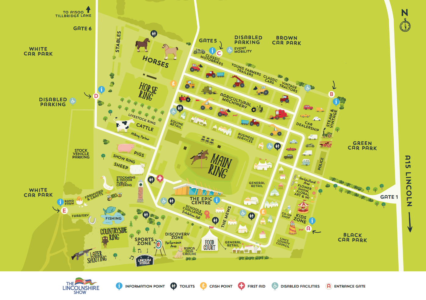 Click to download event map.
