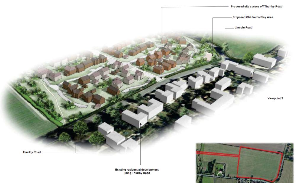 Plans: Gladman Developments