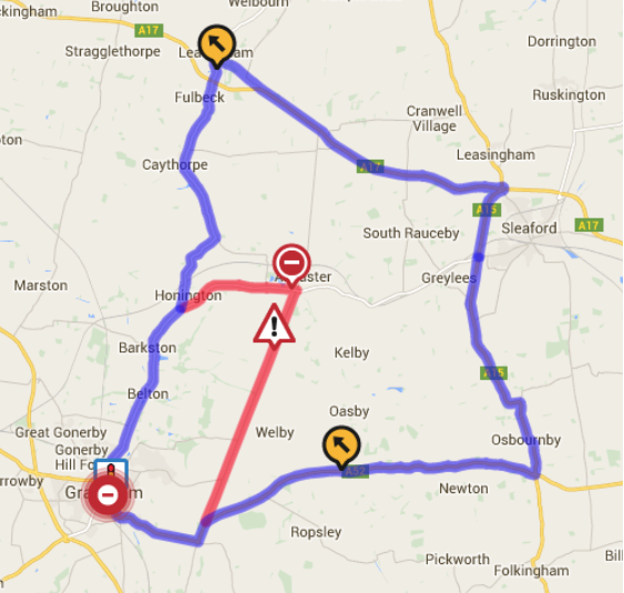 High Dyke – Emergency Road Closure and associated diversion routes