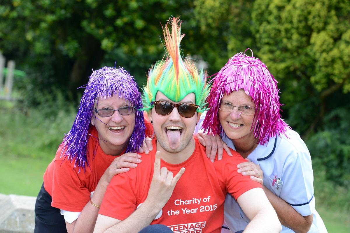 Lincolnshire Co-op staff Penny Rae, Paul Hodgson and Hazel Shuck