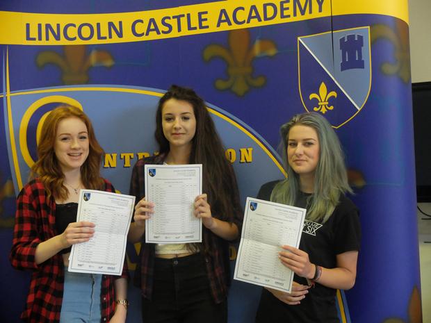 Eilidh Tullet (L), Lucy Clayton (M), Rachel Hobson (R)
