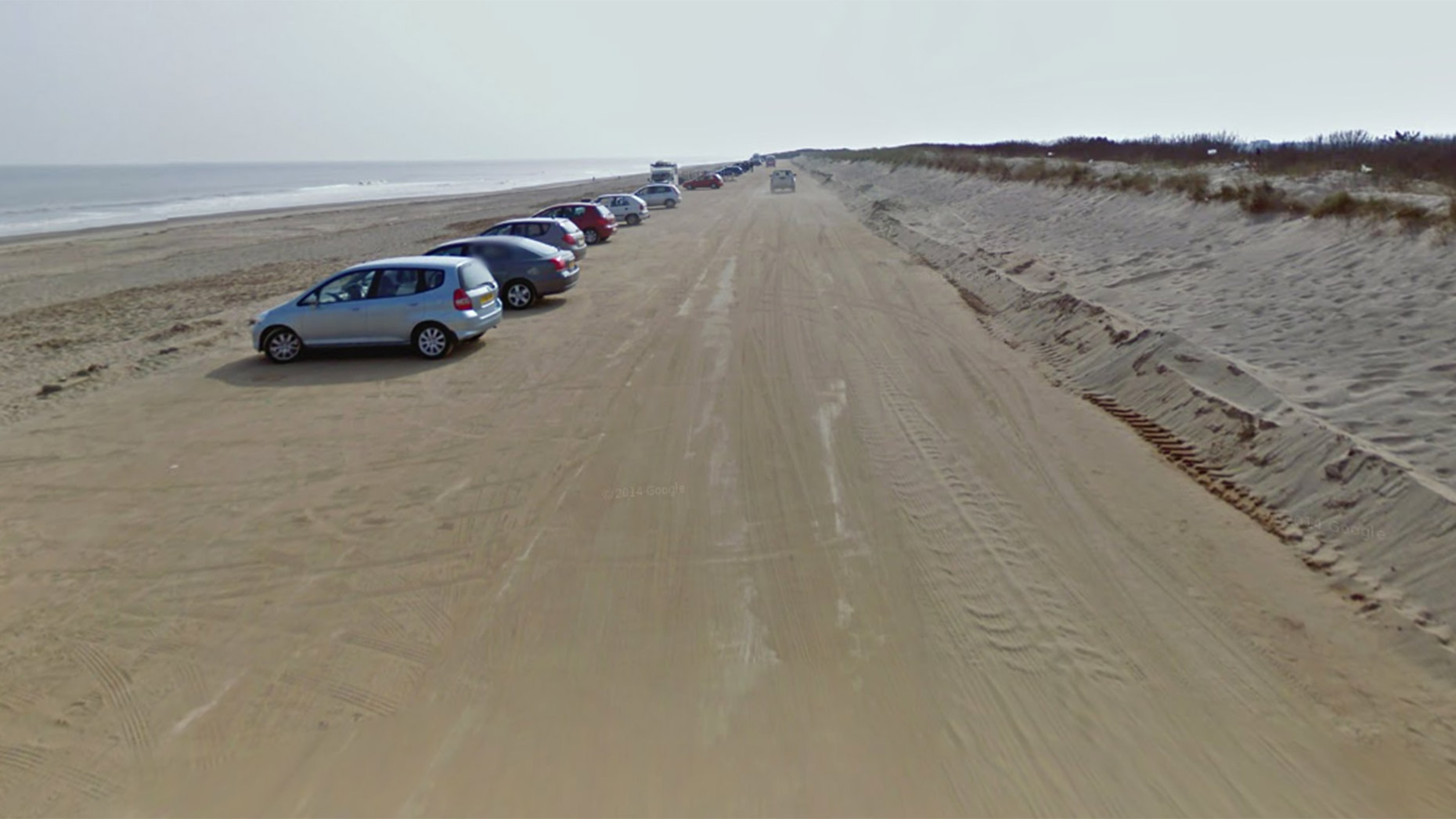 Huttoft Car Terrace. Photo: Google Street View