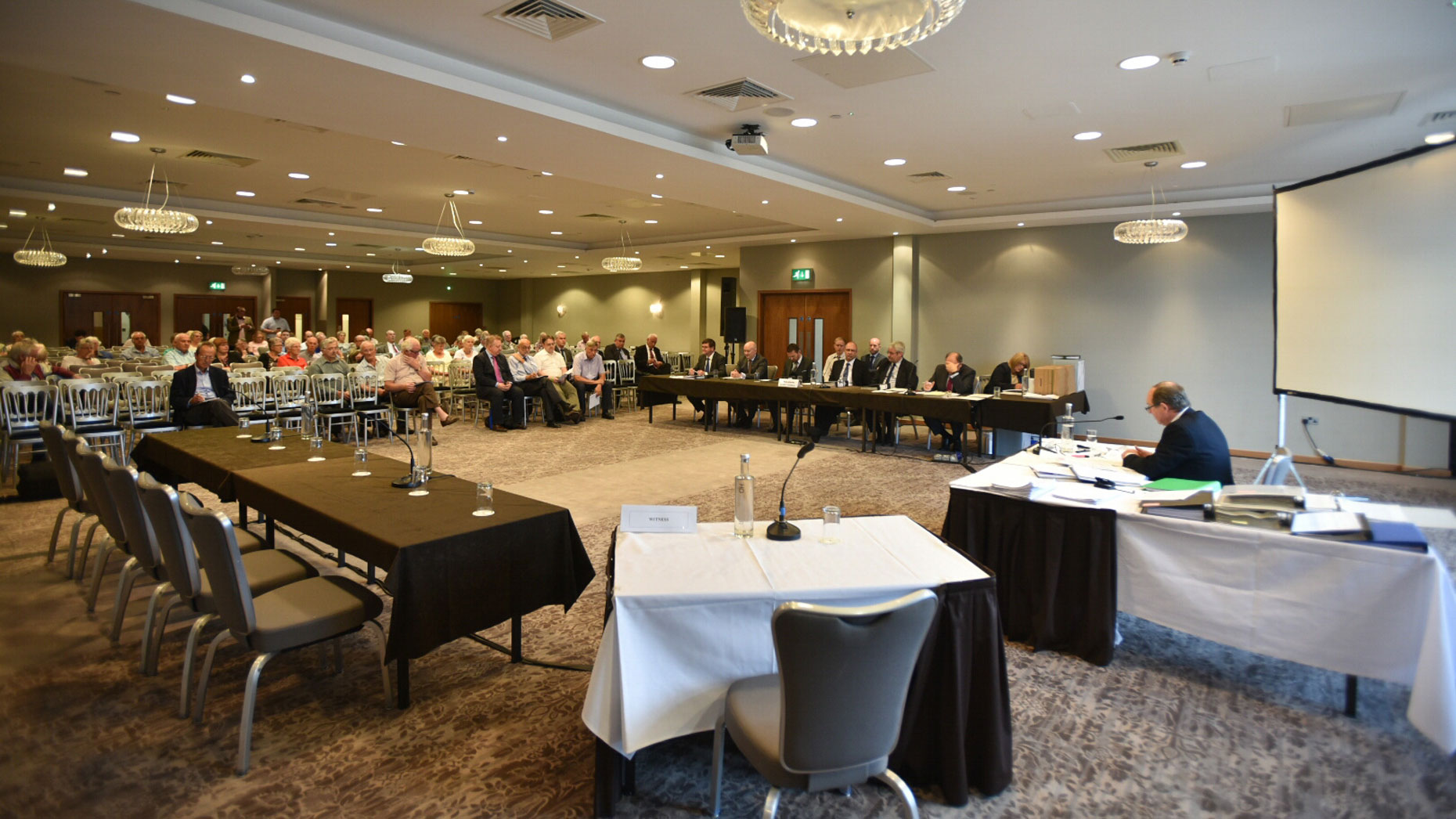 The public inquiry is taking place over two weeks at DoubleTree by Hilton hotel in Lincoln. Photo: Steve Smailes for The Lincolnite