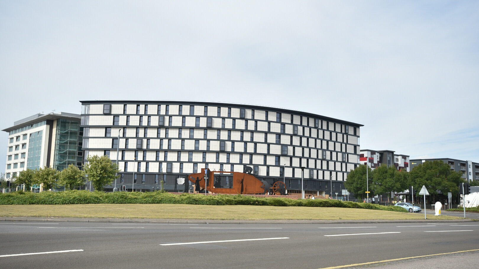 The Gateway student accommodation in Lincoln. Photo: Steve Smailes for The Lincolnite