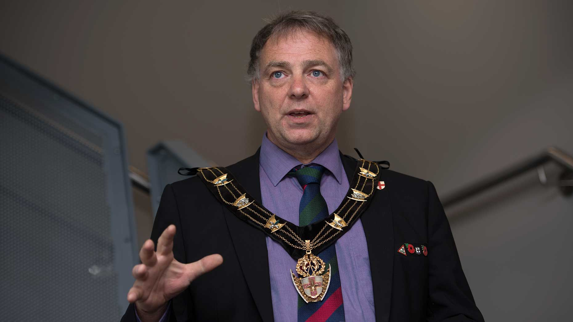 Mayor of Lincoln Councillor Andrew Kerry. Photo: Steve Smailes for The Lincolnite