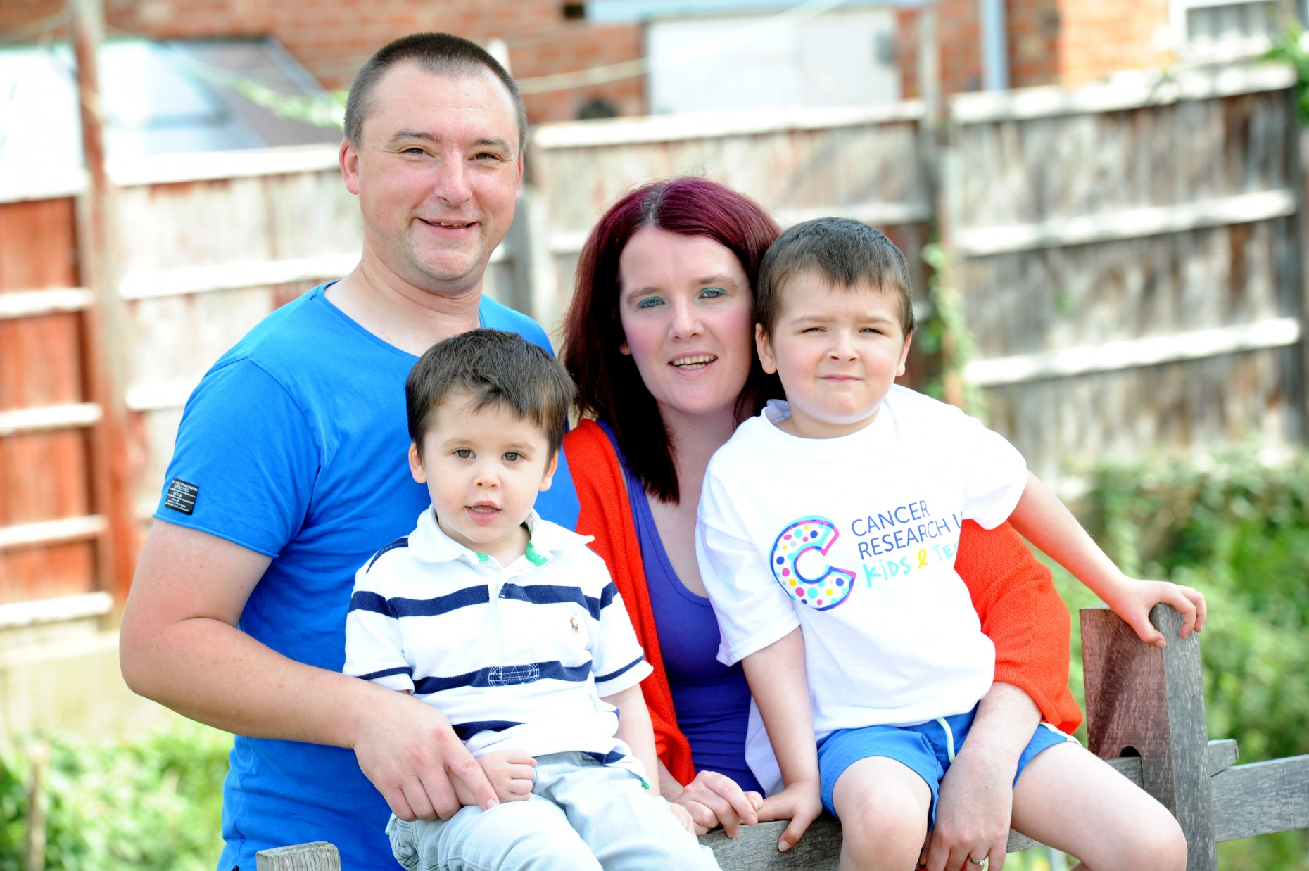 Liam and his family from Lincoln.