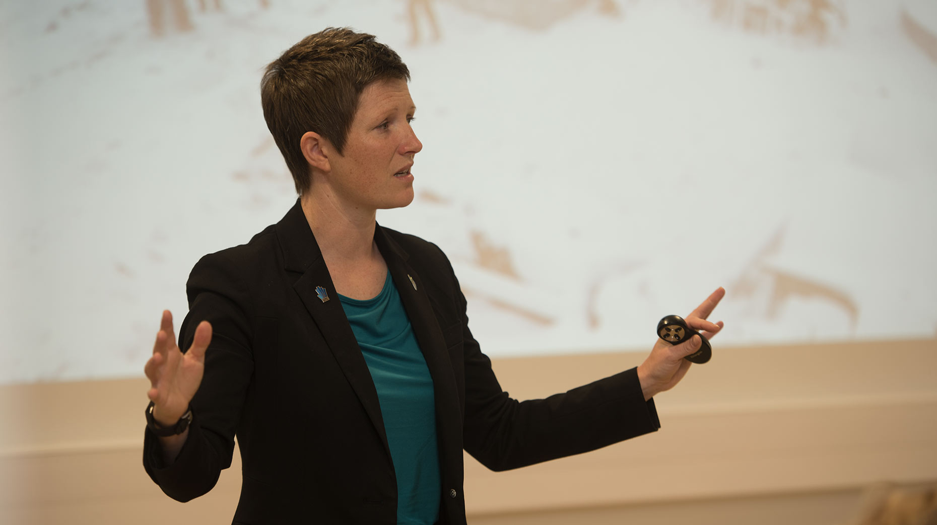 Lincolns UTC Principal Rona Mackenzie. Photo: Steve Smailes for The Lincolnite