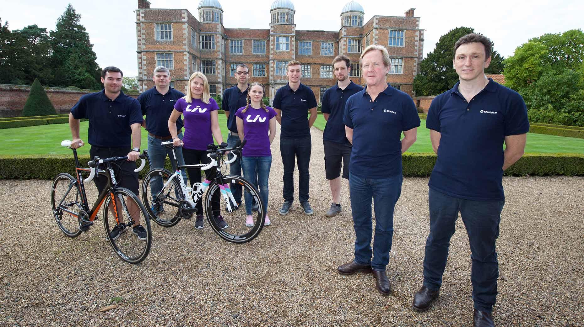 The Giant Lincoln Team at Doddington Hall.