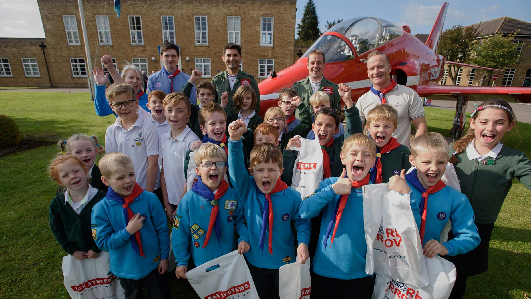 3rd Lincoln (Scampton scout group). Photo: Steve Smailes for The Lincolnite