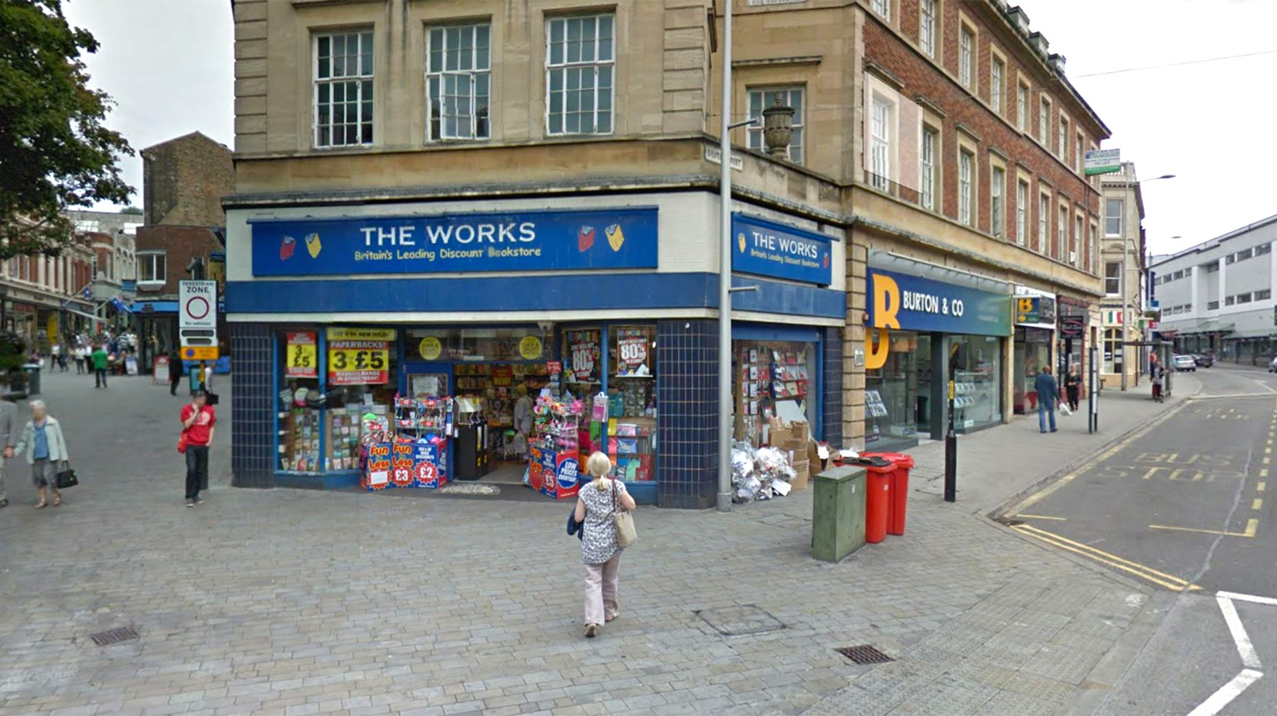 Police Investigate Damage At Lincoln Book Shop Caused With