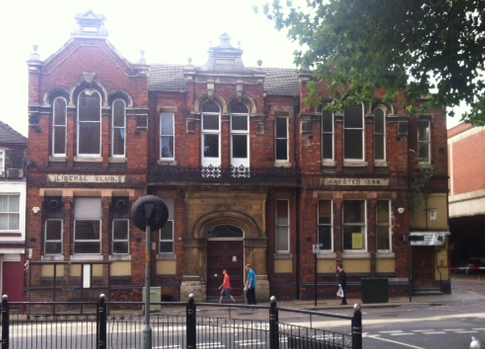 The Old Liberal Club on St Swithins Square.