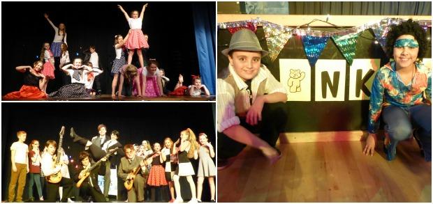 North Kesteven School dancers.