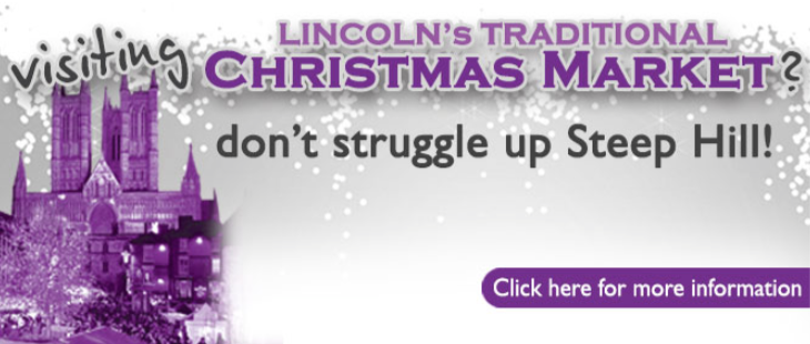 Click for more information on Stagecoach's Lincoln Christmas Market bus timetables.