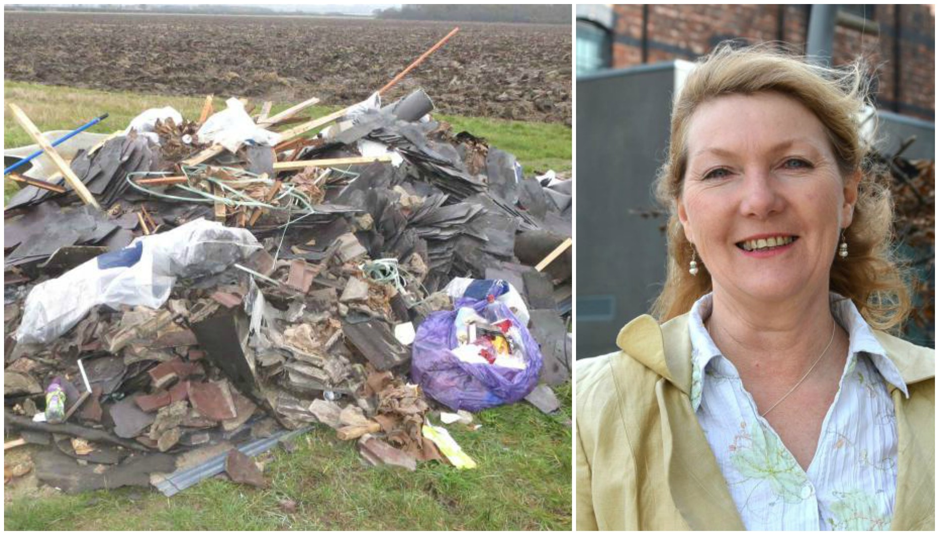 """Leader of the Lincolnshire Independents Marianne Overton said the closure of the sites would be """"perverse"""" and lead to an increase in fly-tipping."""