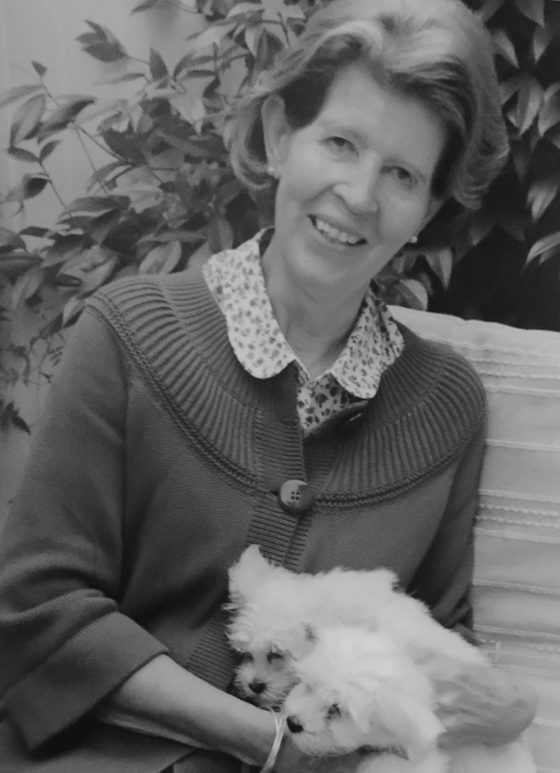 Julia Baynham, on her 70th birthday