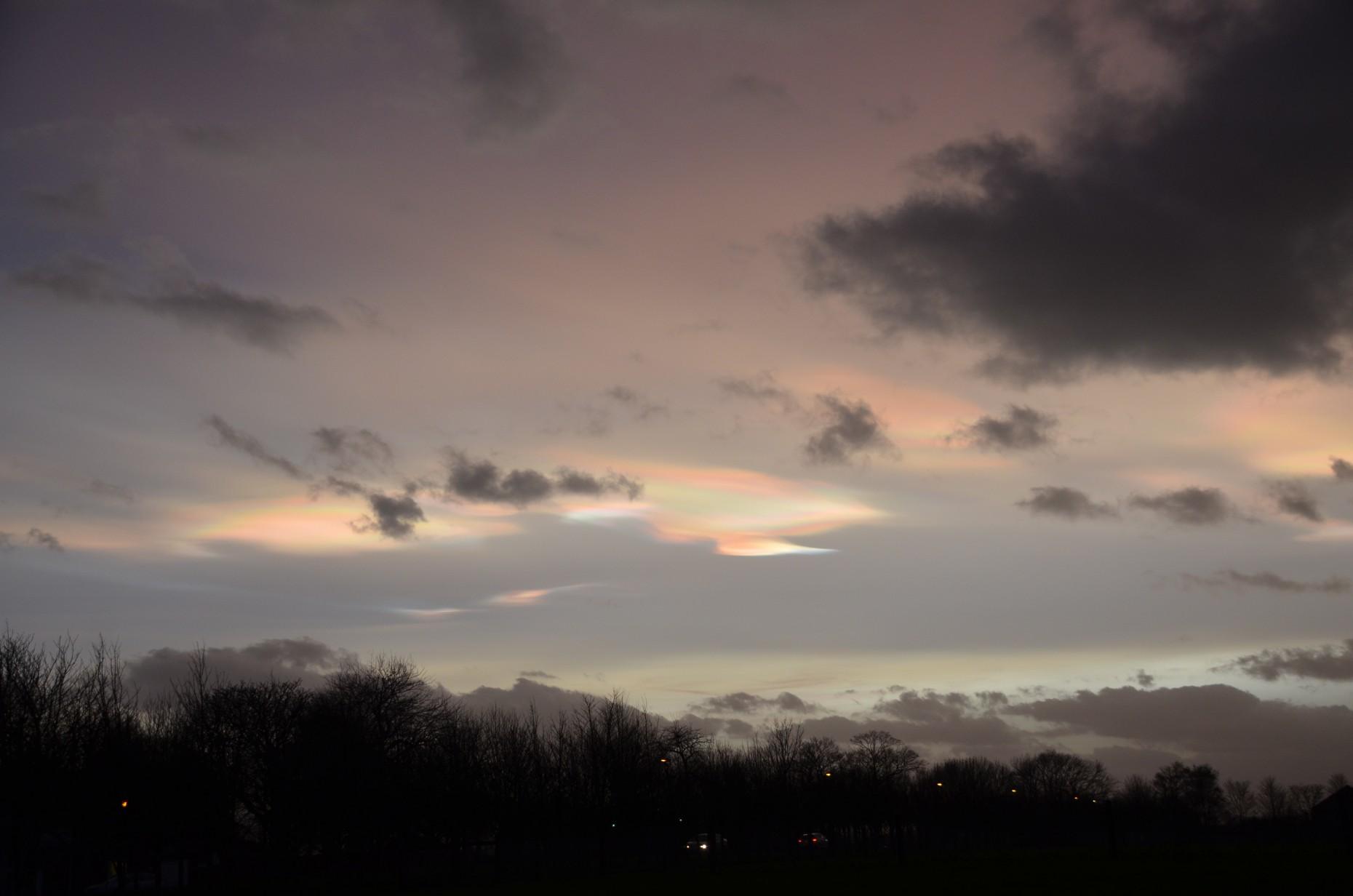 Taken over RAF Cranwell. Photo: Flisher Photography