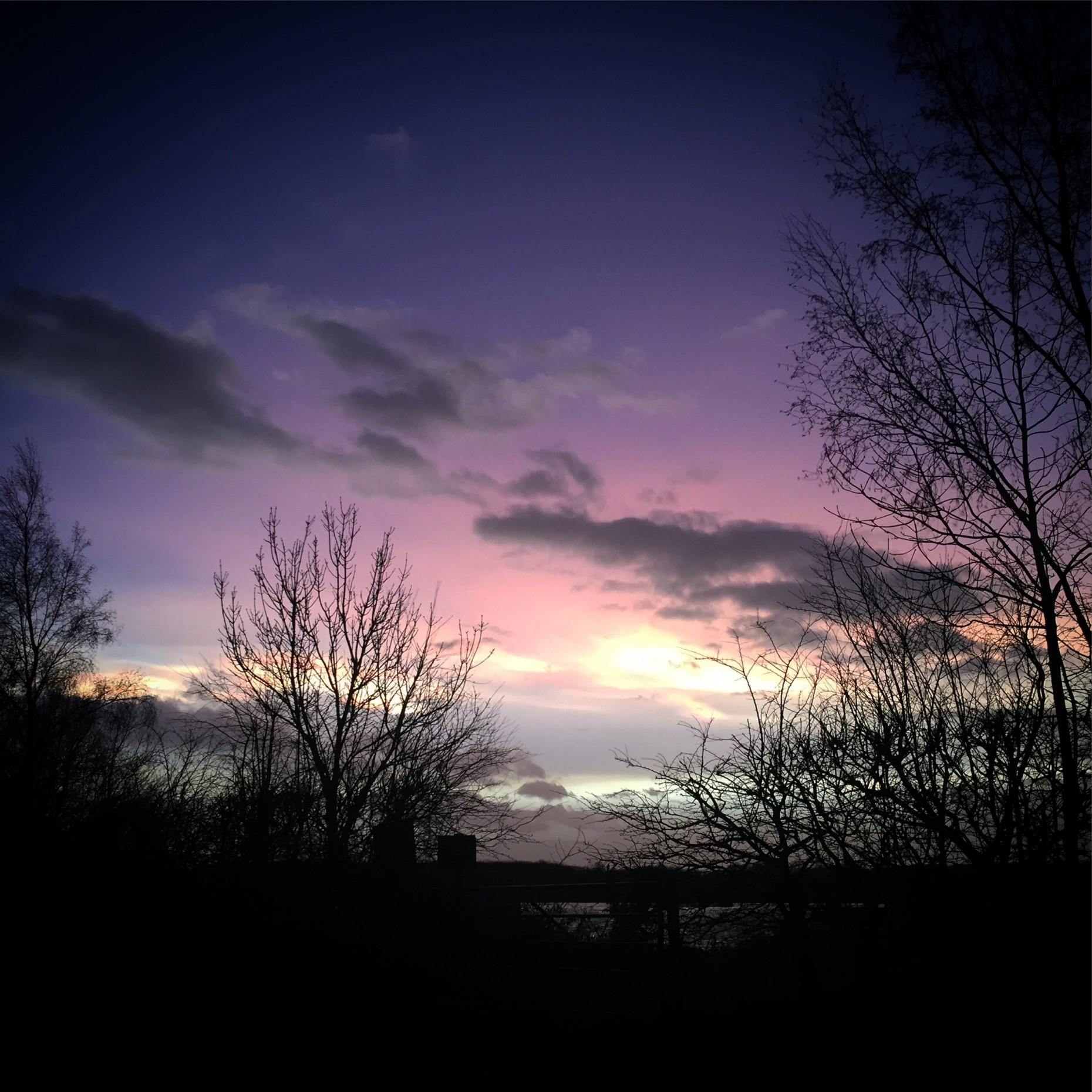 The sky over Kirkby on Bain. Photo: Danielle Pole