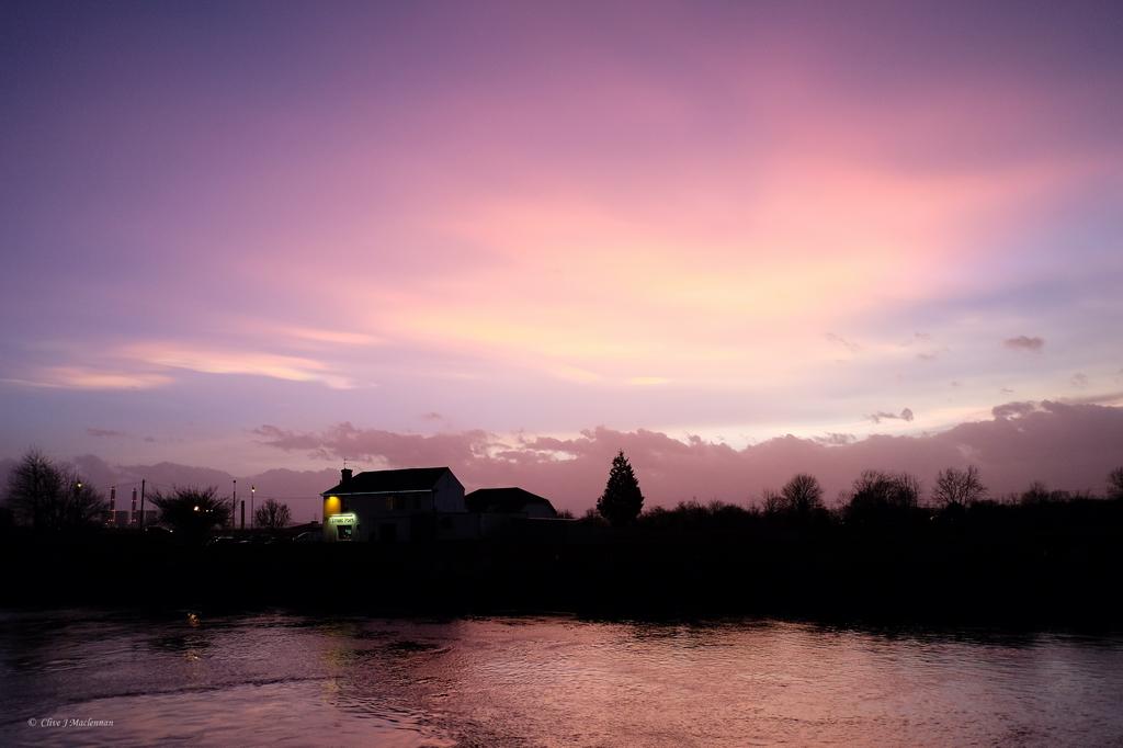 Skies over Gainsborough. Photo: Clive Maclennan