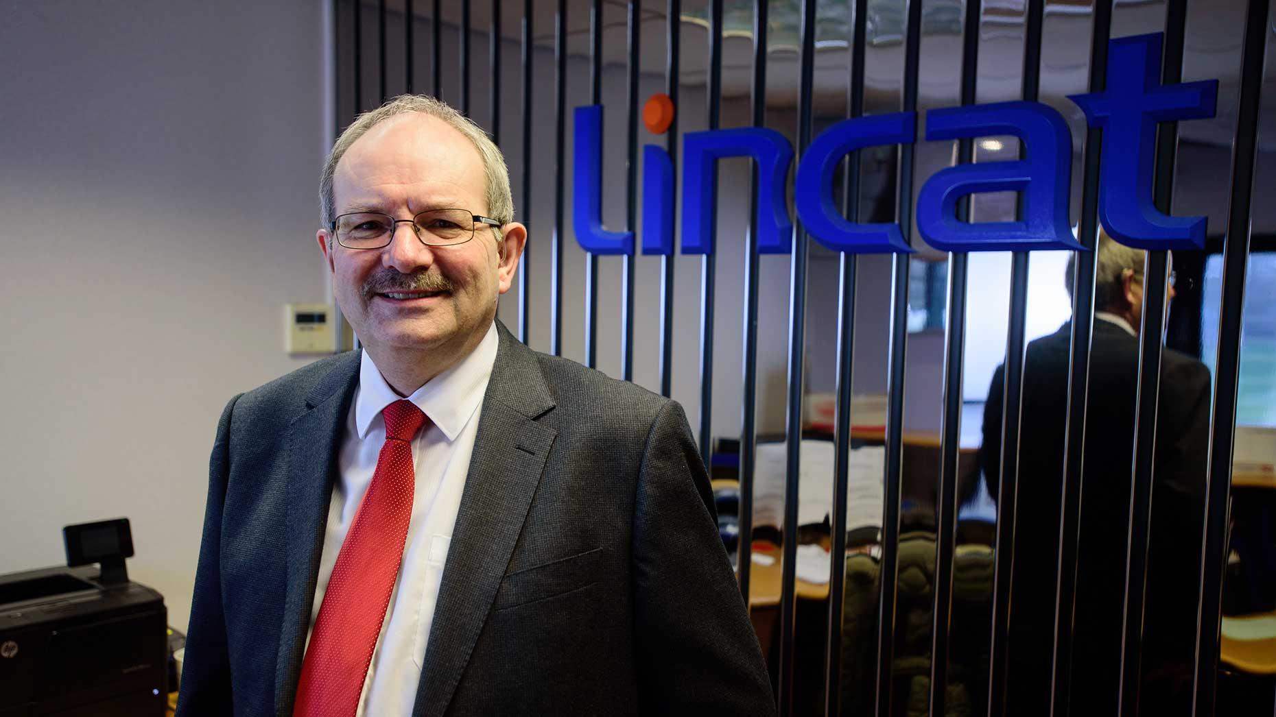 Nick McDonald, managing director of Lincat Ltd