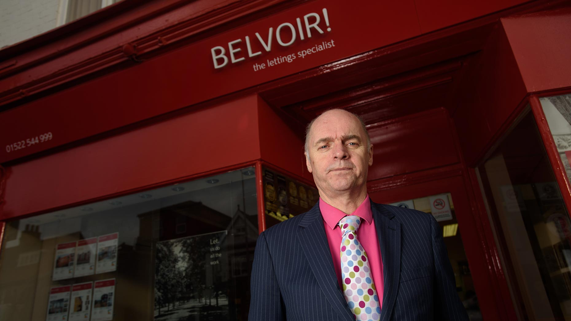 Paul Collins, Managing Director of Belvoir Lettings