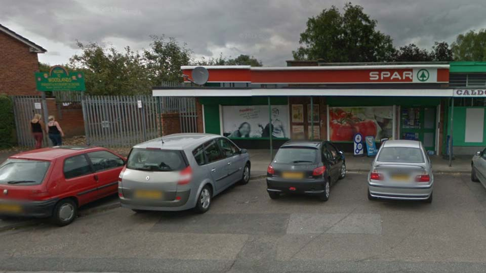 The Spar store on Woodfield Avenue in Lincoln. Photo: Google Street View