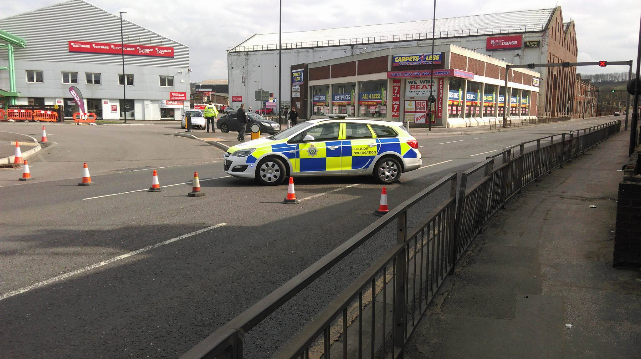 A 600m cordon was in place with roads closed and a number of people evacuated. Photo: The Lincolnite