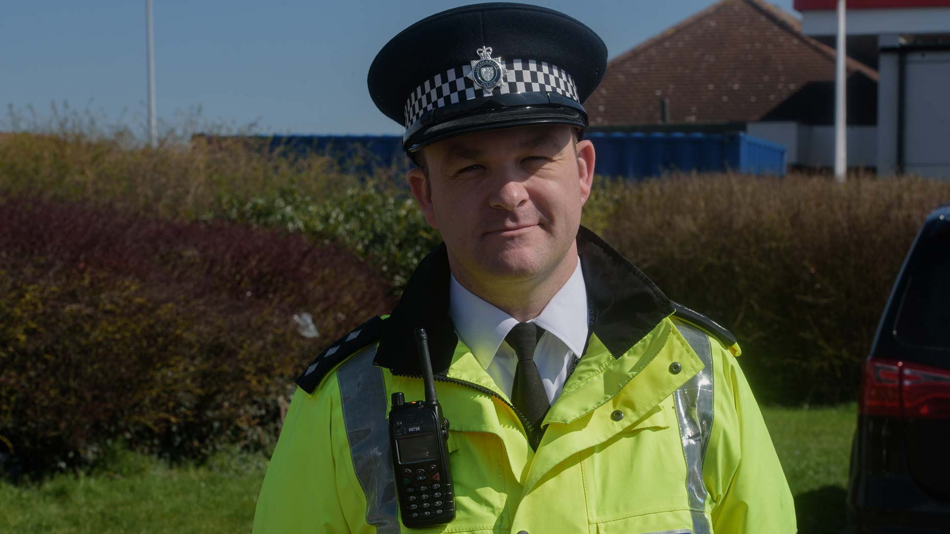 Chief Inspector Phil Vickers of the East Midlands Operational Support Unit