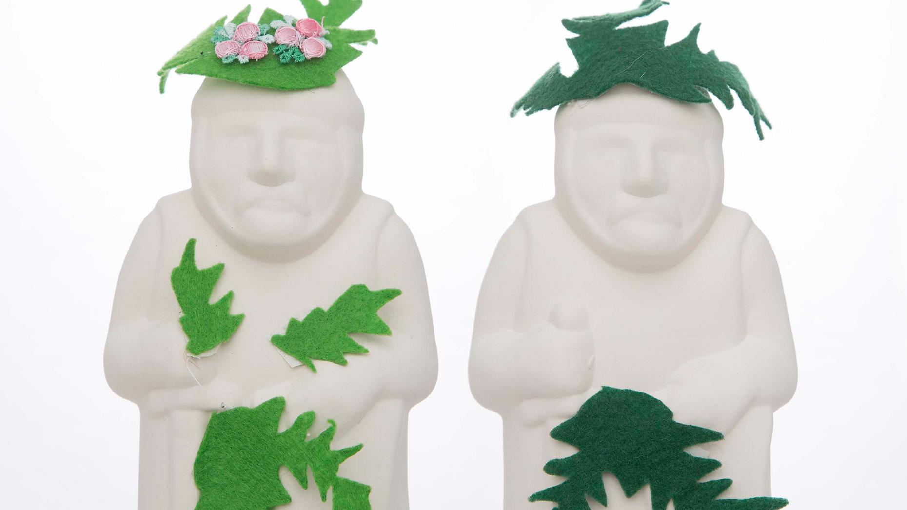 Adam and Eve mini barons