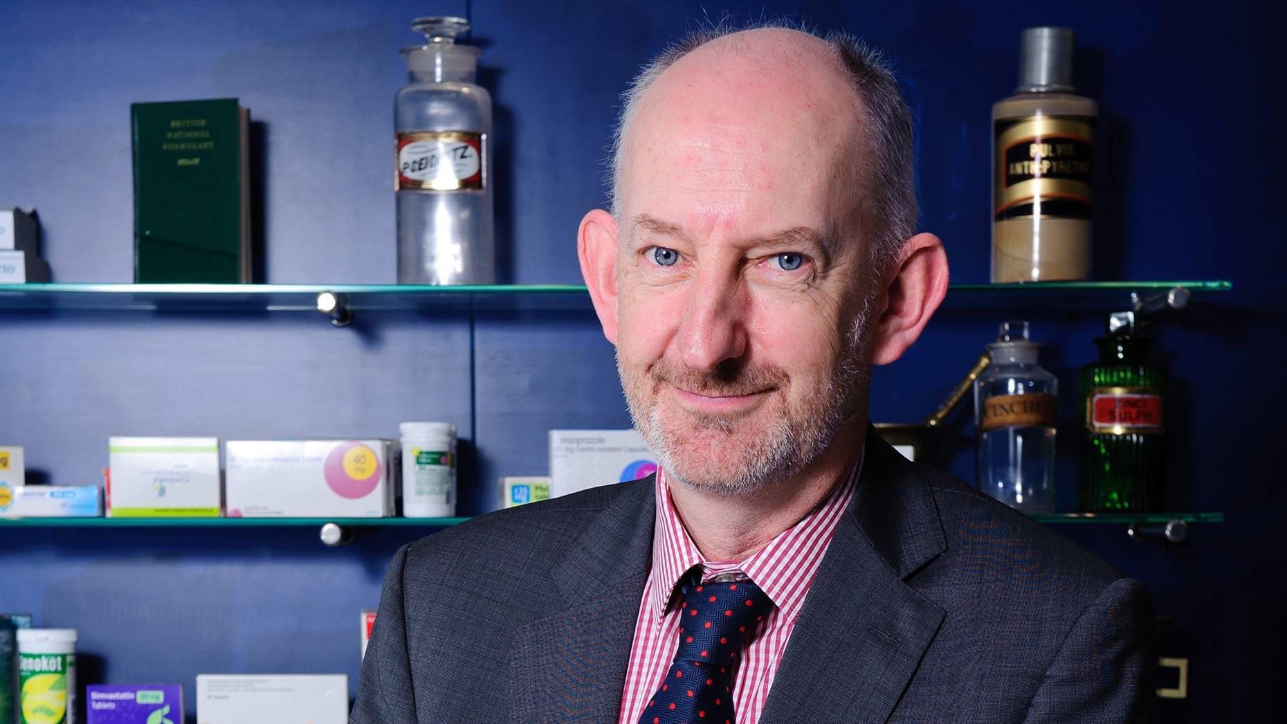 Superintendent pharmacist Alastair Farquhar. Photo: Lincolnshire Co-op