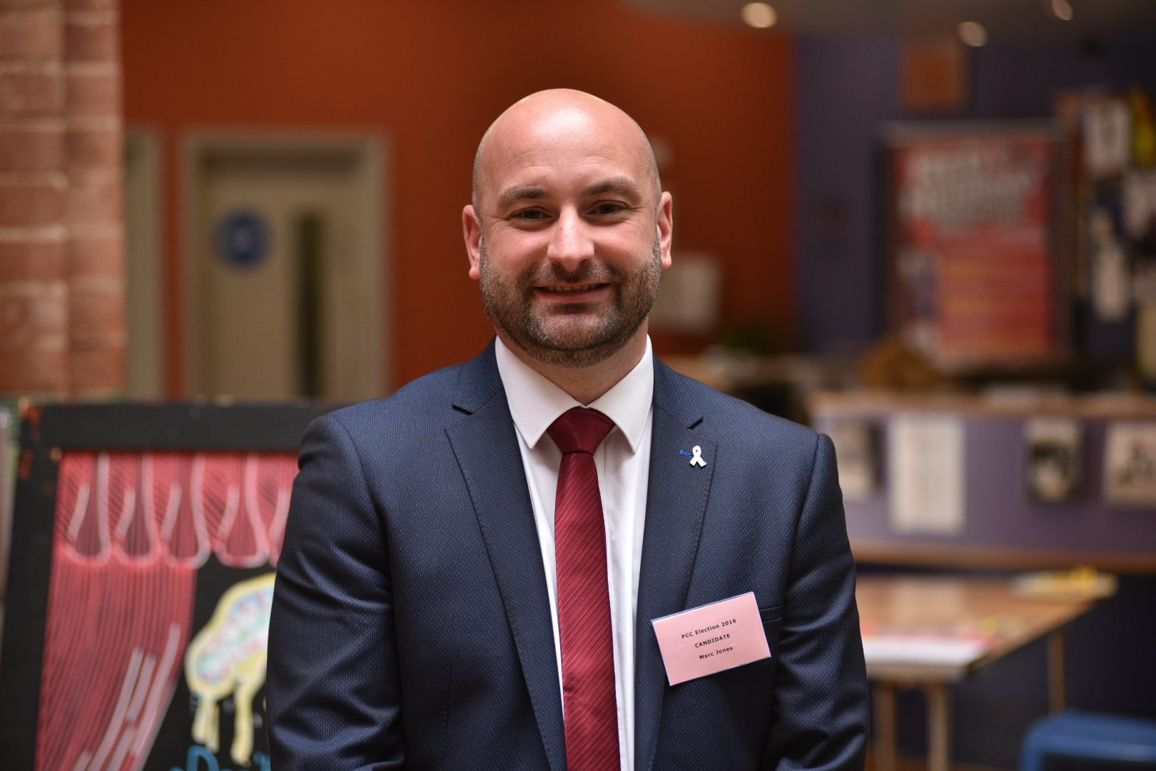 Marc Jones, the Lincolnshire Police and Crime Commissioner.