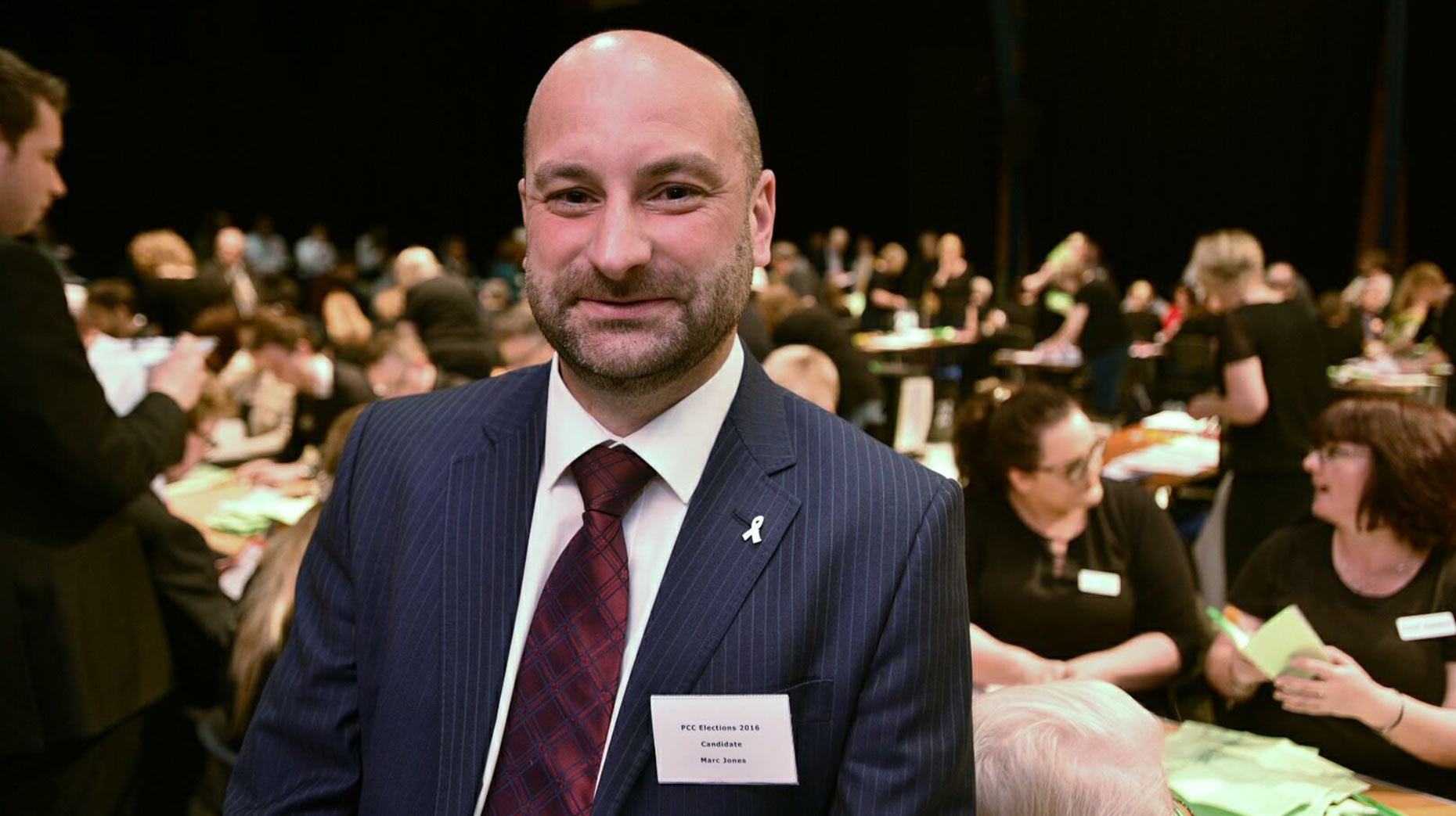 Lincolnshire's new Police and Crime Commissioner Marc Jones. Photo: Steve Smailes for The Lincolnite
