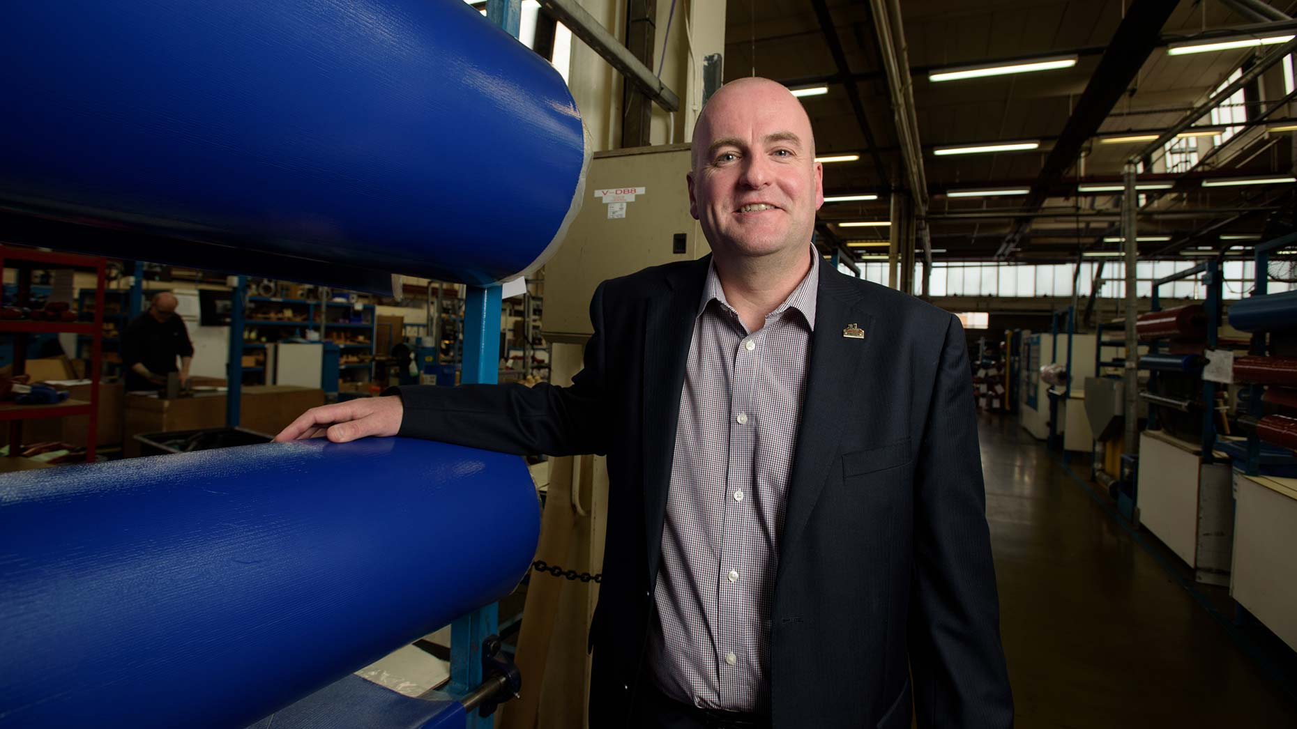 Paul Edwards, Managing Director of James Dawson & Son. Photo Steve Smailes
