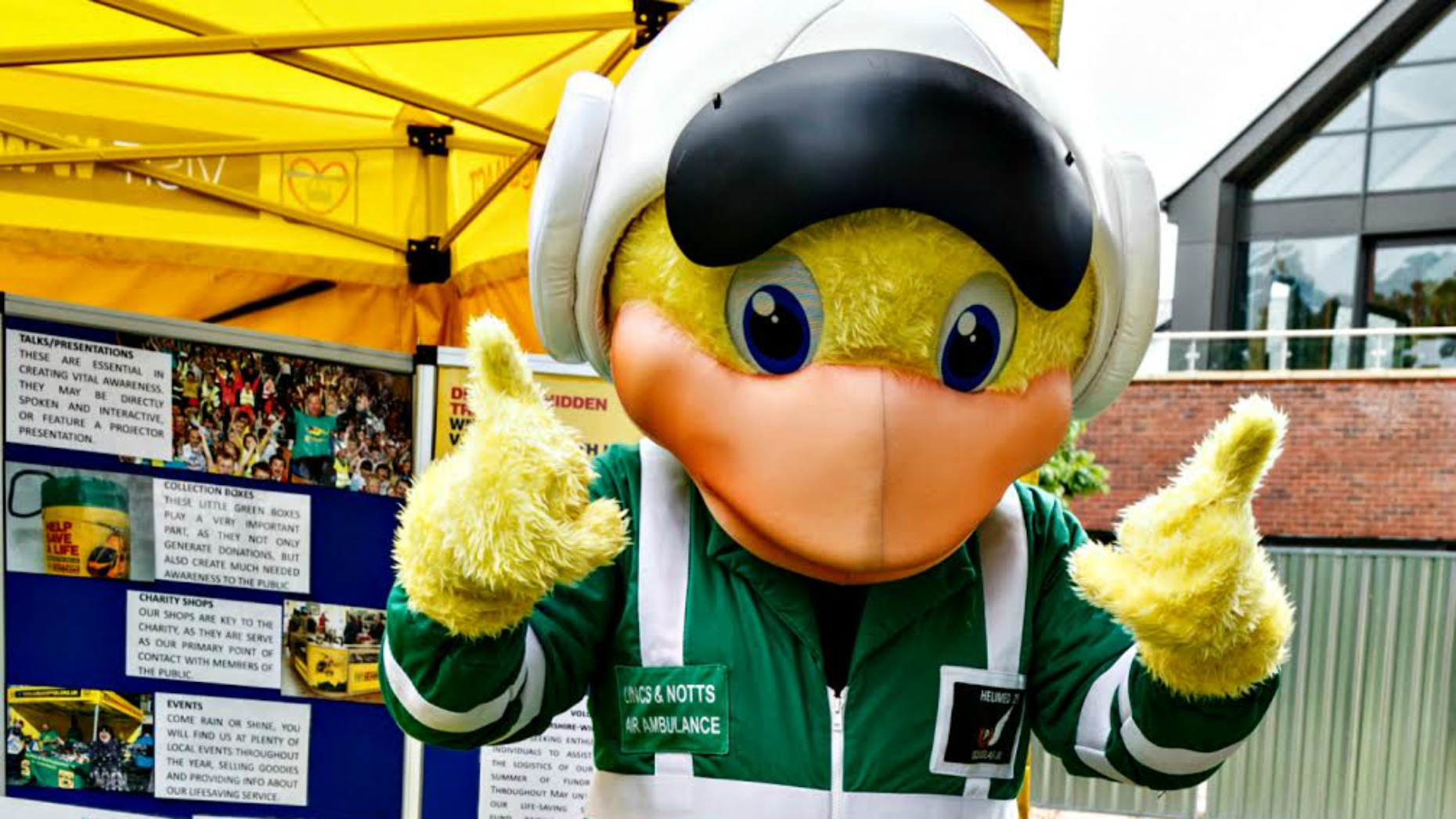 Lincolnshire and Nottinghamshire Air Ambulance have also set up a competition for primary school children to name the new helicopter.